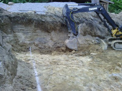 Inground pools paradise pool and patio for Digging ground dream meaning
